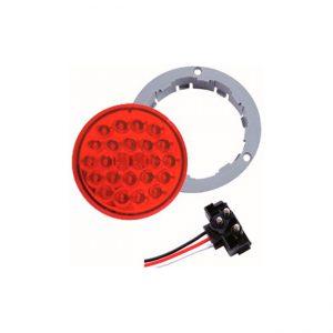 FAROL LED  4.0″ 24L  9-36V ROJO