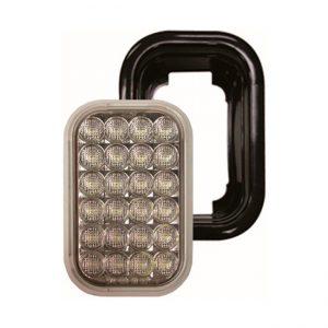 14 FAROL LED TRASERO 24L  9-36V BLANCO