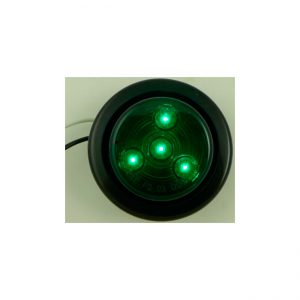 7 FAROL LED  2.0″  4L  9-36V VERDE
