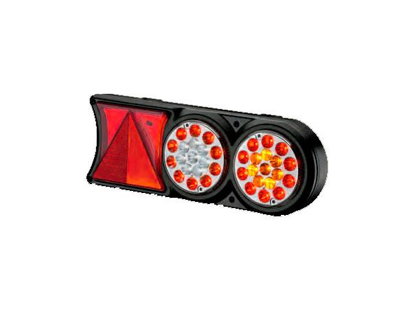luz-trasera-de-la-lente-de-cristal-Bi-voltios-Circulo-de-luz.-SALIDA-6-vias-conector-Faston-acrilico