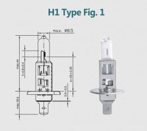 H1 12V 100W
