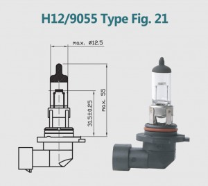 H12 9040 12V 40W