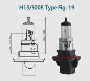 H13 9008 12V 100/90W