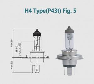 H4 12V 100/90W