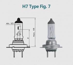 H7 12V 100W