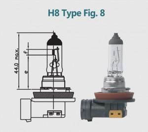 H8 12V 35W