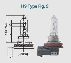 H9 12V 65W