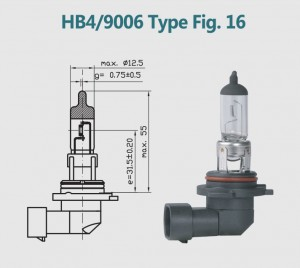 HB4 9006 12V 55W