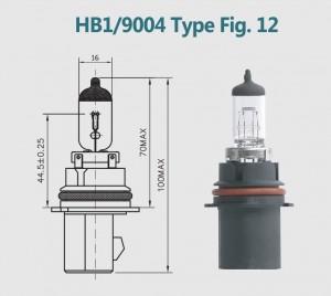 HB1 9004 12V 100/80W