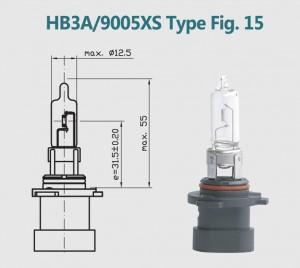 HB3A 9005XS 12V 65W