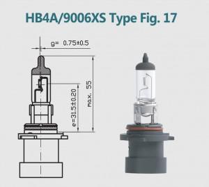 HB4A 9006XS 12V 55W