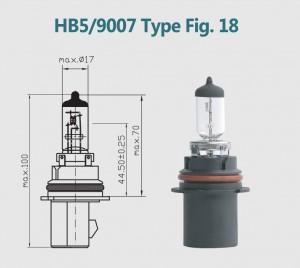 HB5 9007 12V 100/80W