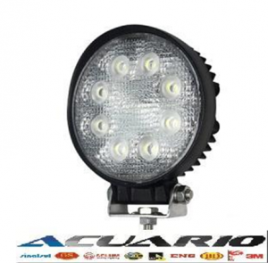 #0004 LED Work Light 24W (Cod:0424-FL o SP)