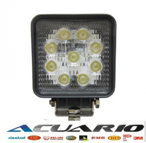 #0001 LED Work Light 27W(Cod: 0727-FL o SP)