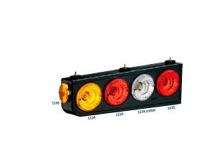#0022 Cuadro-completo-set-w–linternas-modelo-movil-de-la-lente-corta-c–metalico-de-base-(LD-acrilico–LE)-s–lamparas