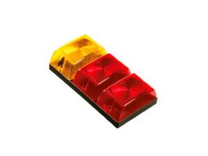 #0030 Farol Trasero Amarillo rojo rojo Cod. SN1129r