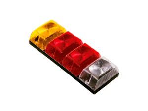 #0029 Farol trasero amarillo rojo rojo blanco Cod. SN1130r