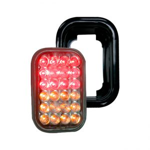 #004 FAROL LED TRASERO 24L  9-36V AM/RO