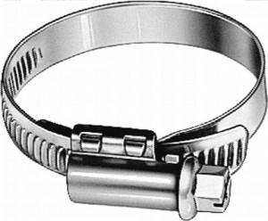 Abrazadera Metal 9mm 40-60mm
