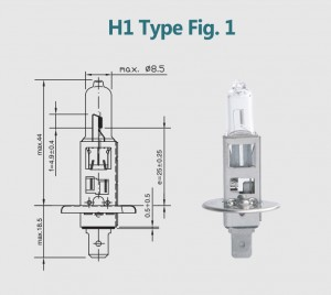 H1 12V 130W