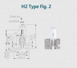 H2 24V 100W