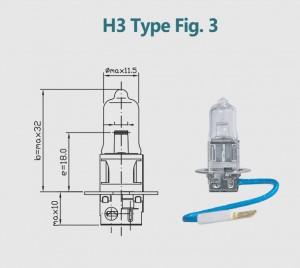 H3 12V 100W